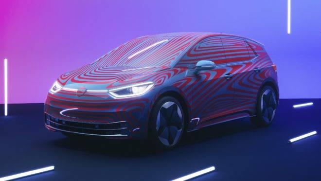 Apresentação e anúncio da pré-venda do ID.3. Foto: Volkswagen/ Divulgação