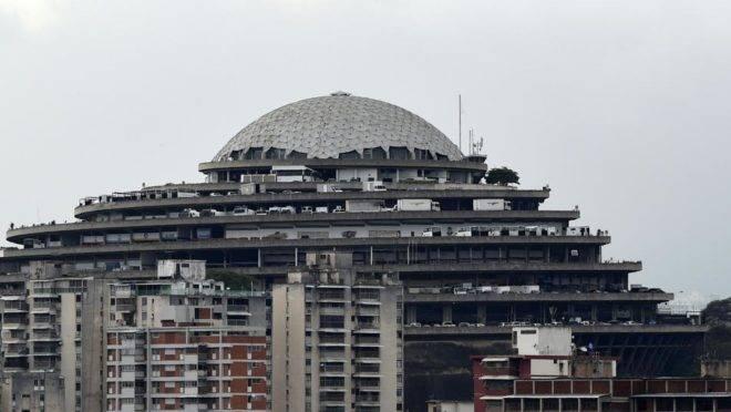 O Helicoide, presídio e sede do Serviço Bolivariano de Inteligência Nacional (Sebin)
