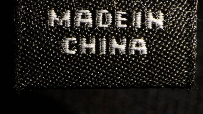 Marca Made in China, representativa da guerra comercial entre os EUA e a China