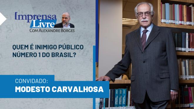 Jurista Modesto Carvalhosa é o primeiro entrevistado do Imprensa Livre na Gazeta do Povo