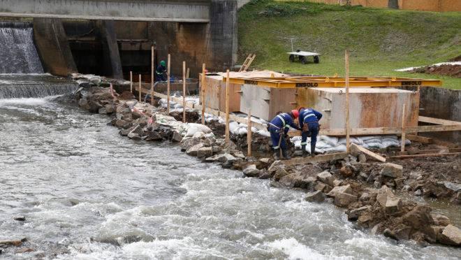Resultado de imagem para obras centrais hidrelétricas