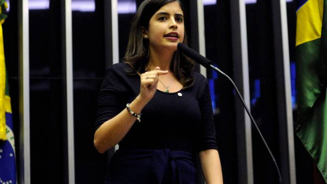 A deputada federal Tabata Amaral (PDT-SP). Foto: Luis Macedo/Agência Câmara