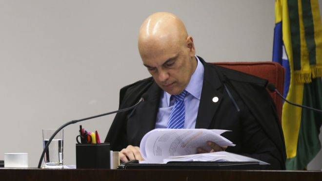 Na foto o ministro Alexandre Moraes.