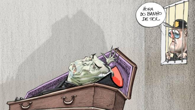 A Liga da Justiça se reúne em Curitiba – mas Moro diz que não exigiu capa do Batman