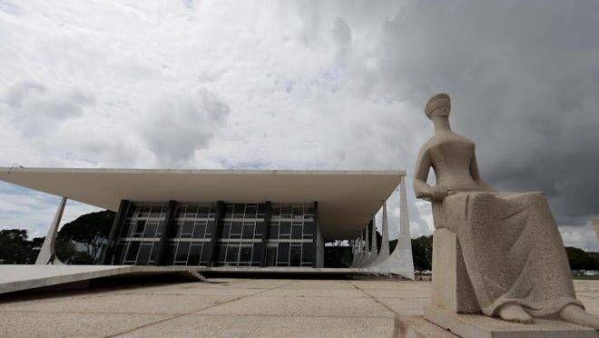 Fachada do STF, em Brasília:decisões cruciais para o governo federal. | Albari Rosa/Gazeta do Povo