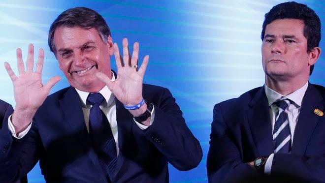 Jair Bolsonaro em visita ao Paraná