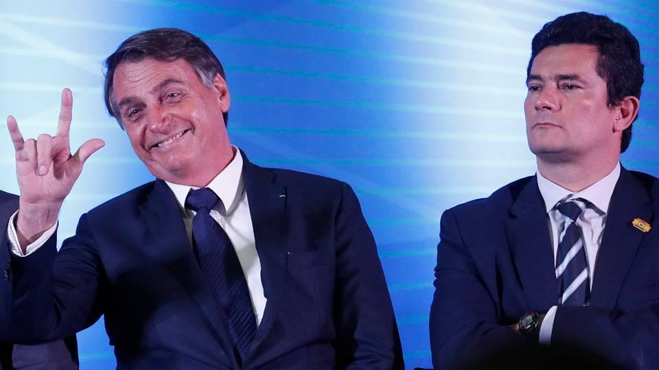 Conflito com a PF ameaça azedar a relação de Bolsonaro com Moro
