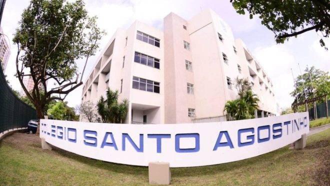 Fachada do Colégio Santo Agostinho, no Rio de Janeiro. Foto: Divulgação.