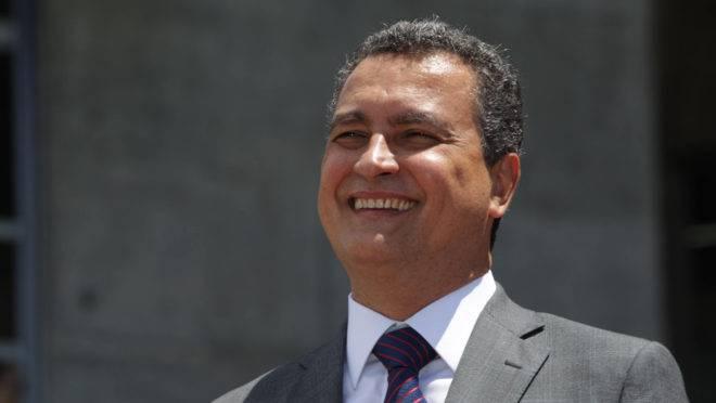 O governador da Bahia, Rui Costa (PT).