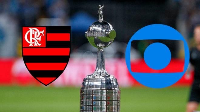 Globo abraça Flamengo na Libertadores e Grêmio sai da TV; veja divisão