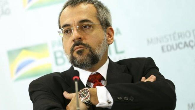 O ministro da Educação, Abraham Weintraub. Foto: Marcelo Camargo/Agência Brasil