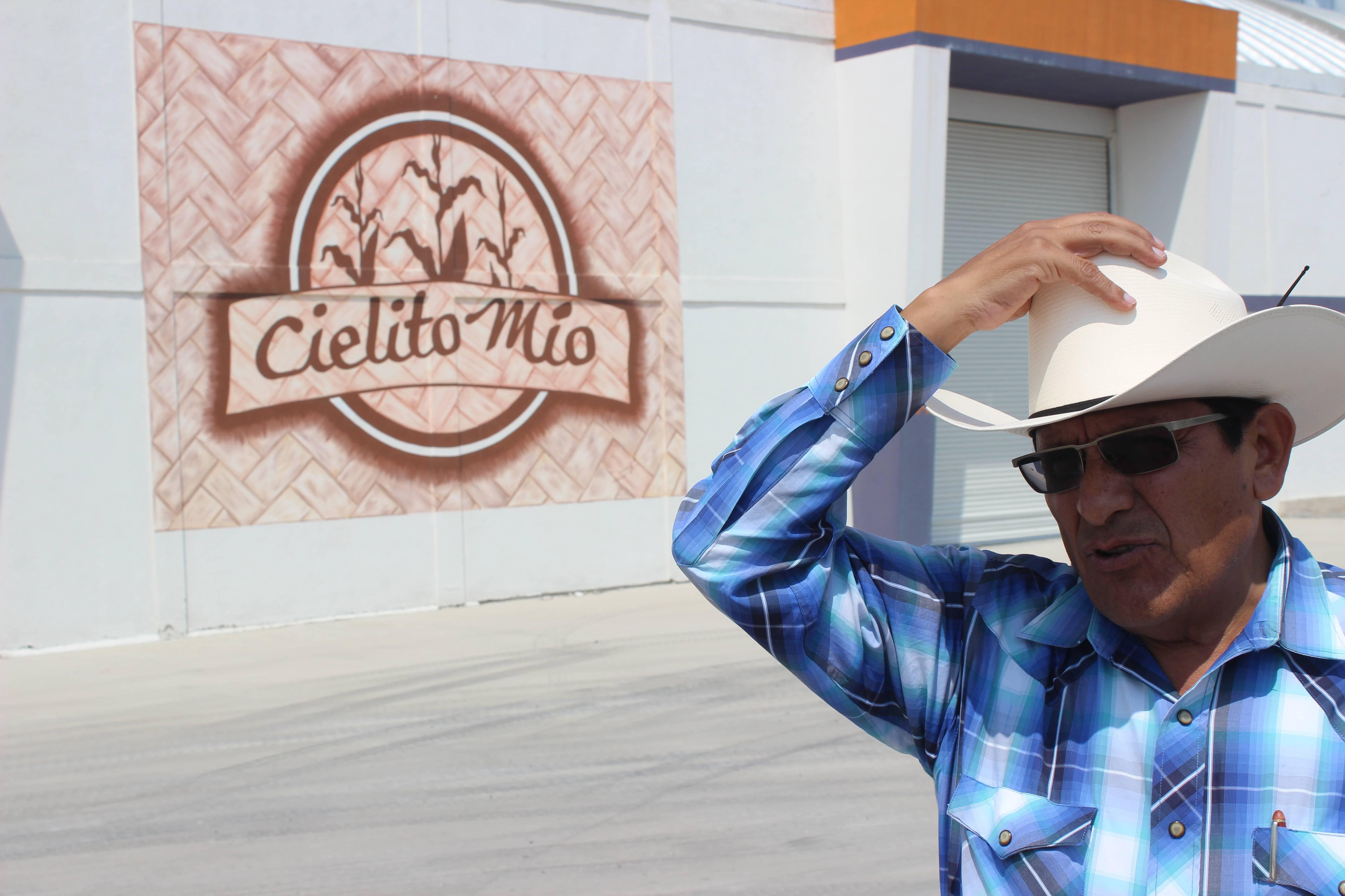 Efraín García Bello lidera um grupo de 12 mil pequenos agricultores em Puebla, região central do México.