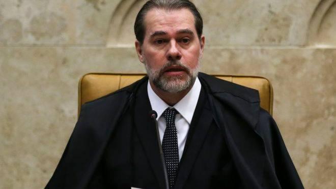 O ministro do STF, Dias Toffoli.