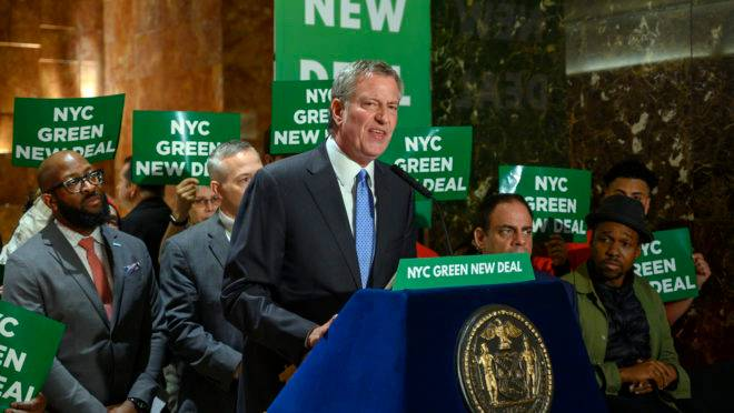 Prefeito de Nova York, Bill de Bladio, anuncia candidatura à presidência dos EUA nas eleições 2020