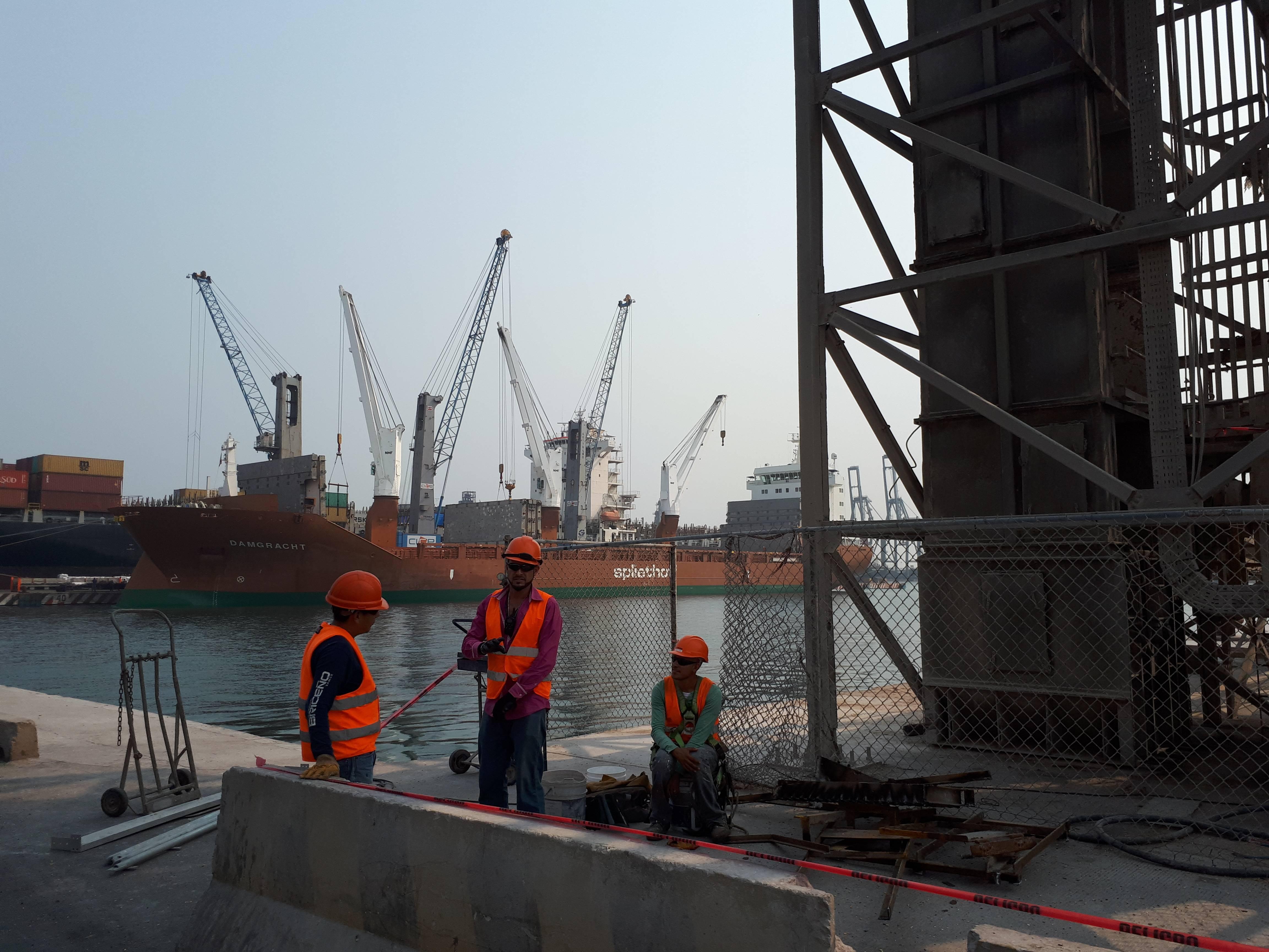 Na primeira etapa de expansão do porto, já foram investidos 1,7 bilhão de dólares