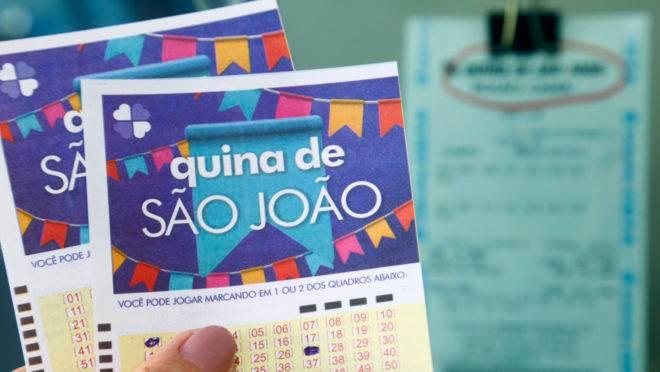 Quina de São João já recebe apostas. Foto: Aniele Nascimento/Gazeta do Povo/Arquivo