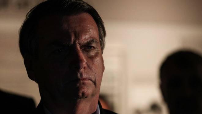 (Dallas - Texas, 15/05/2019) Presidente da República Jair Bolsonaro se emociona ao rever a cena do assassinato de JFK. Foto: Marcos Corrêa/PR