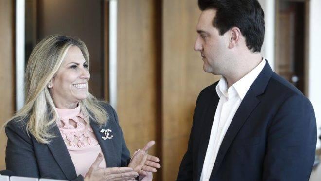 Cida Borghetti pediu a aposentadoria, mas Ratinho Jr disse que não vai conceder o benefício.