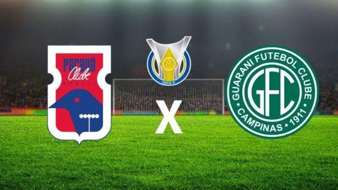Paraná Clube x Guarani – Série B 2019