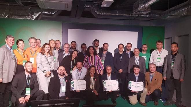 Representantes de startups brasileiras participam de imersão em Santiago (Chile), em março de 2019