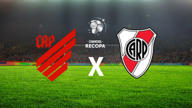Como assistir Athletico x River Plate pela Recopa?