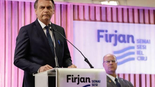Bolsonaro Medalha do Mérito Industria Firjan