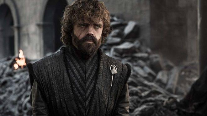 Tyrion Lannister: de beberrão a homem trágico, ele busca a redenção, mas se decepciona ao ver a morte nas ruínas da Torre Vermelha.