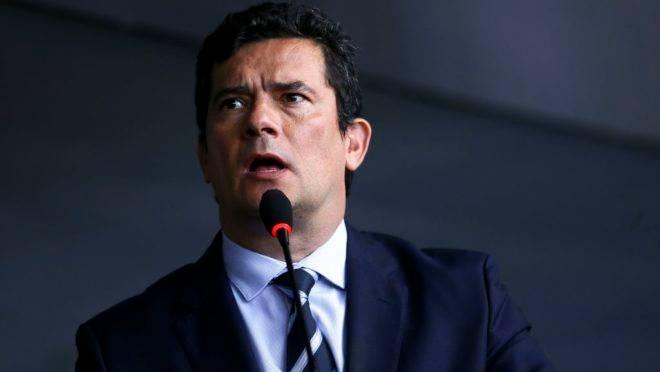 O ministro da Justiça e Segurança Pública, Sérgio Moro.
