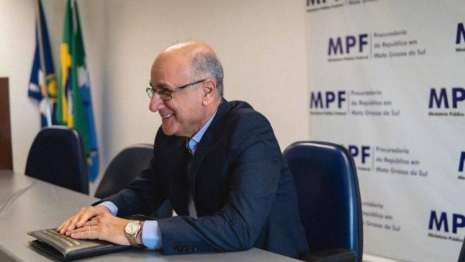 O procurador regional da República Blal Dalloul, candidato à Procuradoria-Geral da República (PGR).