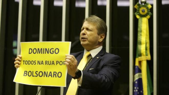 O deputado federal Bibo Nunes (PSL-RS). Foto: Bruno Peres/Flickr/PSL
