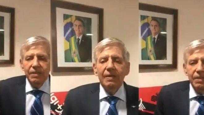 Ministro-chefe de Bolsonaro pede para Athletico 'dar o sangue' contra o River