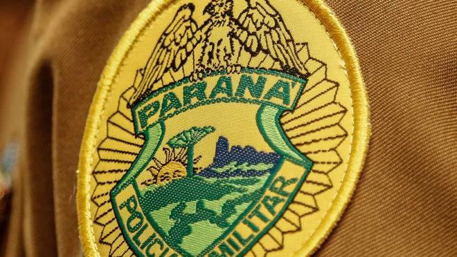 Polícia MIlitar do  Paraná. PMPR Academia de Policia Militar Guatupê Viaturas da polícia militar