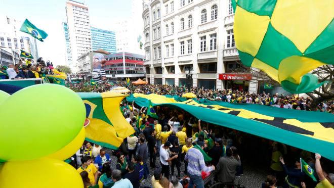 Atos pró-Bolsonaro