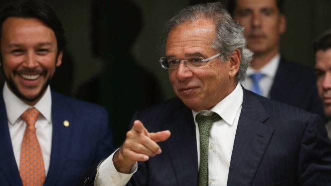 O ministro da Economia, Paulo Guedes.