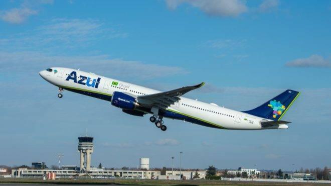 Airbus 330neo, da Azul