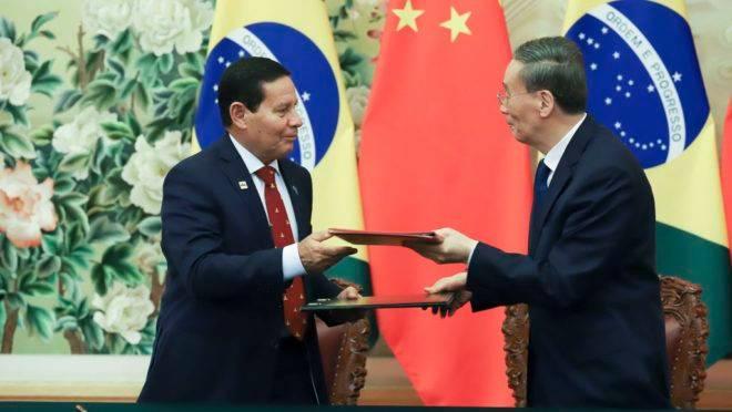 Viagem presidencial à China