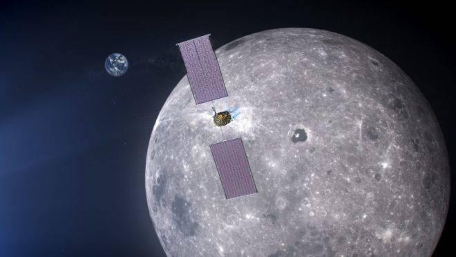 A pequena estação espacial servirá como um módulo móvel de comando e serviços para expedições robóticas e humanas para a superfície da Lua