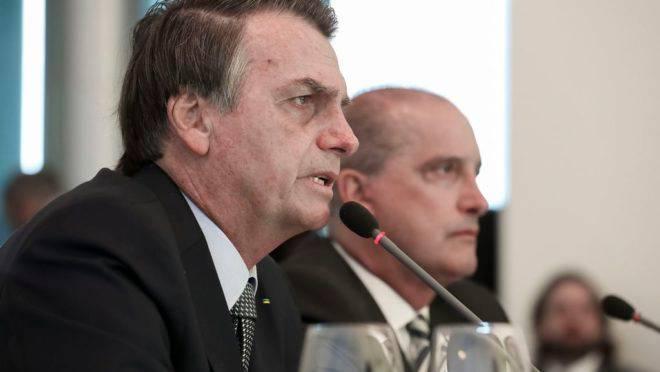 Presidente da República, Jair Bolsonaro durante 12ª Reunião do Conselho de Governo.