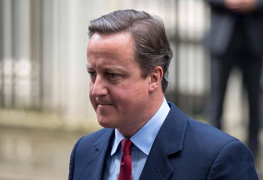 Ex-primeiro-ministro do Reino Unidos, David Cameron   FOTO: CHRIS J RATCLIFFE/AFP