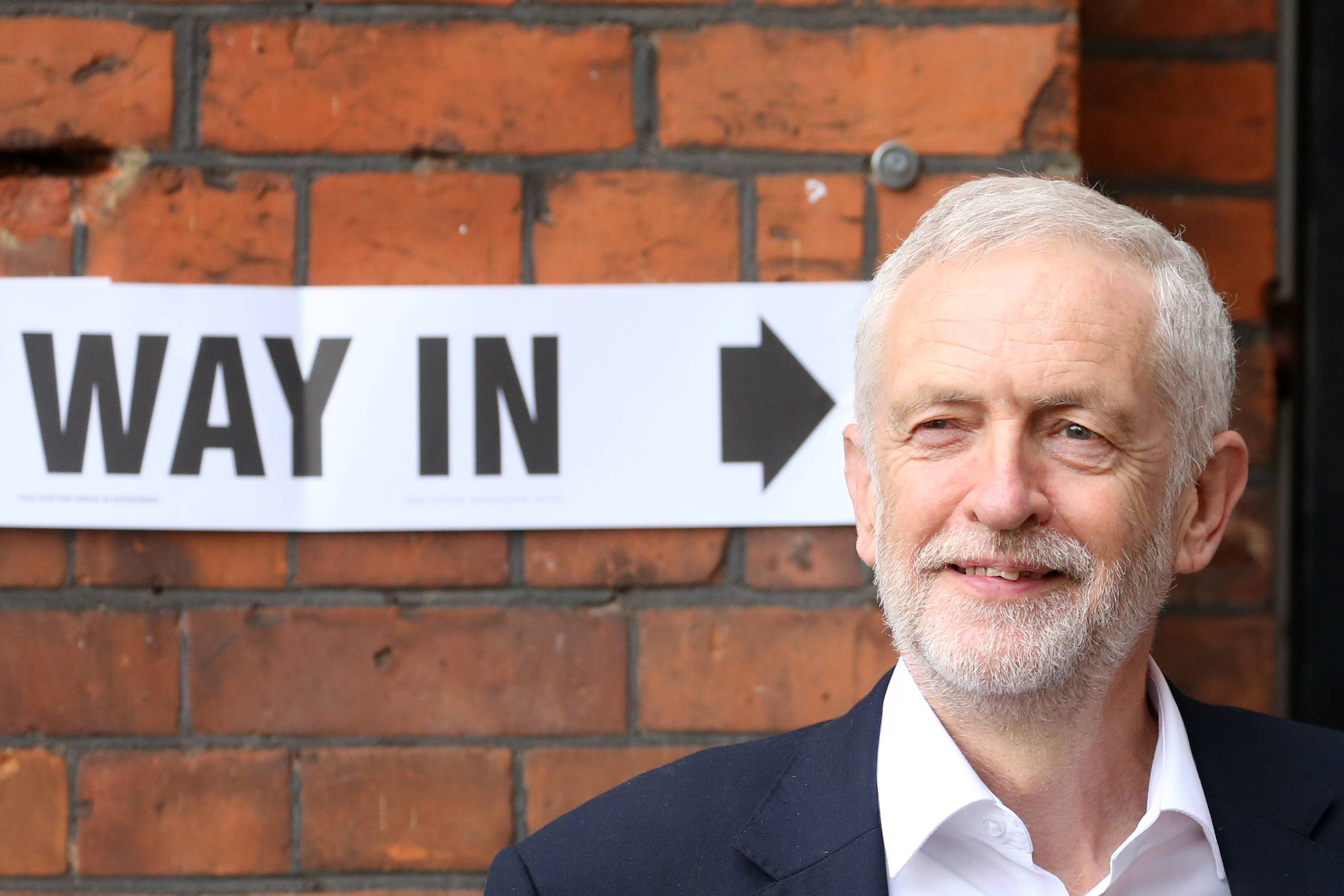 Líder do Partido Trabalhista, da oposição, Jeremy Corbyn   FOTO: Isabel Infantes/AFP