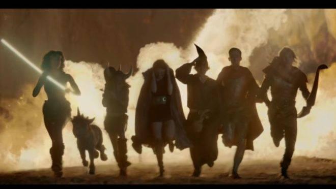 Os protagonistas de Caverna do Dragão viviam o dilema de nunca voltar para casa no fim de cada episódio. Foto: Reprodução/ YouTube