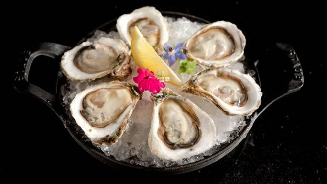 As ostras in natura terão opções especiais no Oyster Bar do K.Sa, que acontece neste sábado. (Foto/ Cassiano Correia)