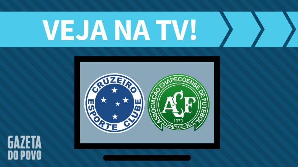 Cruzeiro x Chapecoense AO VIVO: saiba como assistir ao jogo na TV