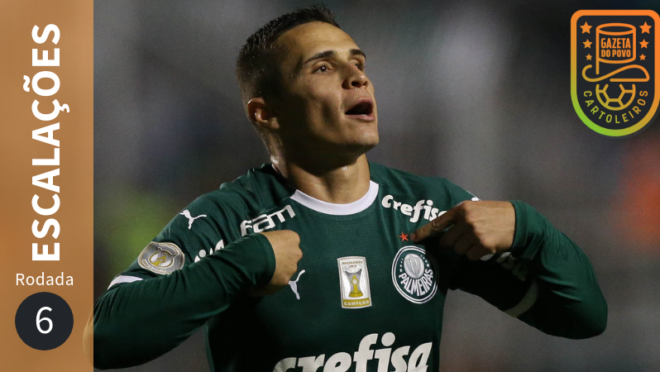Meia Raphael Veiga, do Palmeiras, é desfalque na 6.ª rodada do Cartola FC 2019 (Foto:Flickr/Palmeiras)