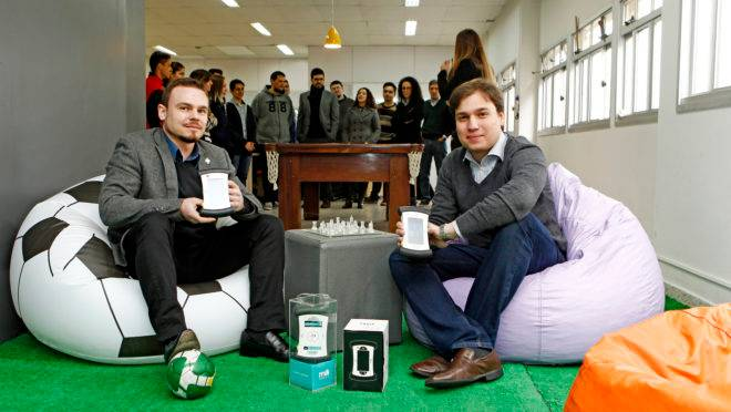 Sócios-diretores da Hi Technologies, Sérgio Rogal Jr. e Marcus Figueredo