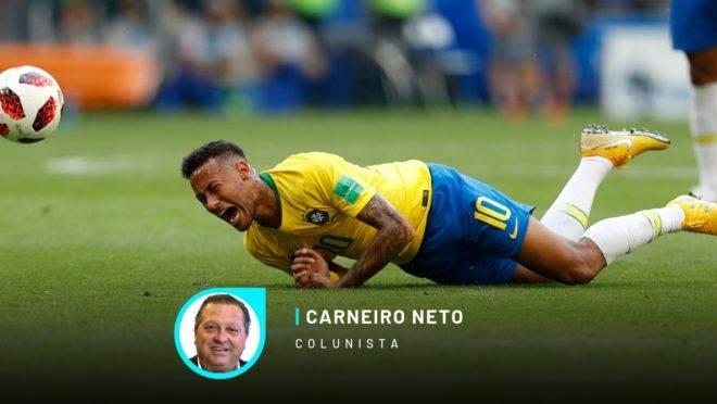 Neymar na Copa do Mundo de 2018, na Rússia. Foto: Jonathan Campos/Gazeta do Povo