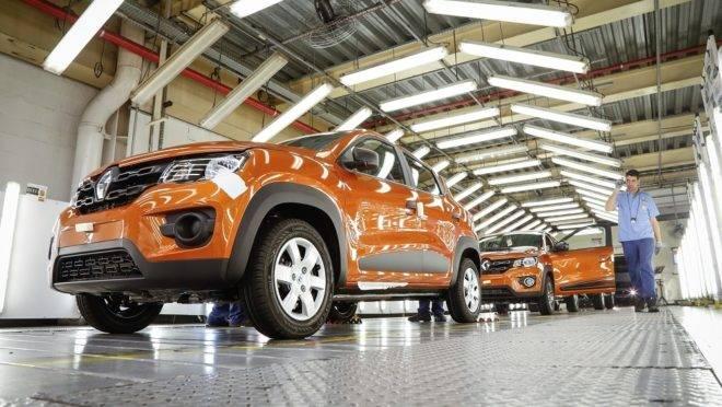O  Kwid é o principal produto da Renault, respondendo por 1/3 de todas as vendas da marca. Foto: Renault/ Divulgação