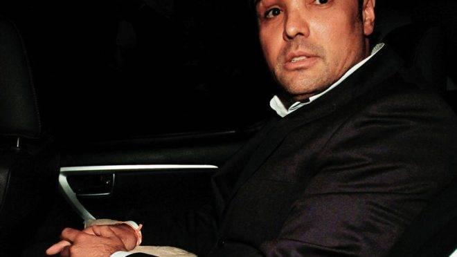 O ex-deputado Luiz Fernando Ribas Carli Filho durante seu julgamento