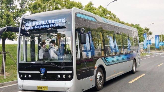 Ônibus autônomo funciona sem motorista