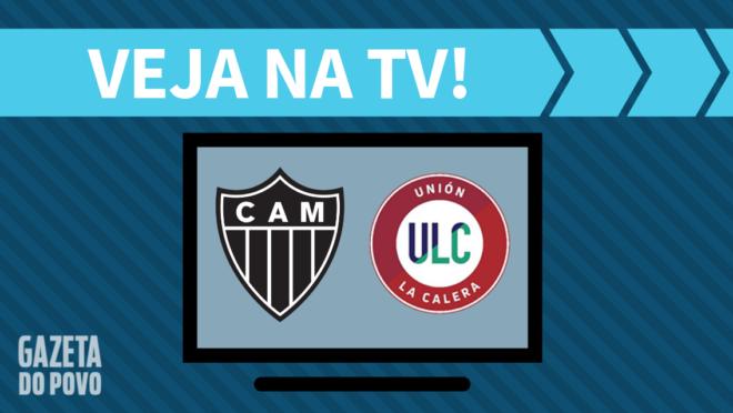 Atlético-MG x Unión La Calera: veja na TV